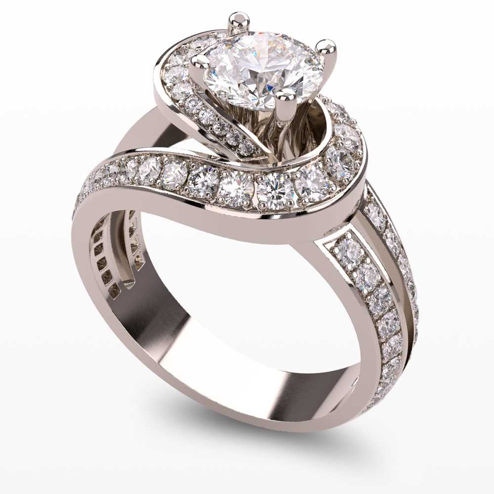 Model-1.1 Forever Love Special Diamond Ring Collection Image