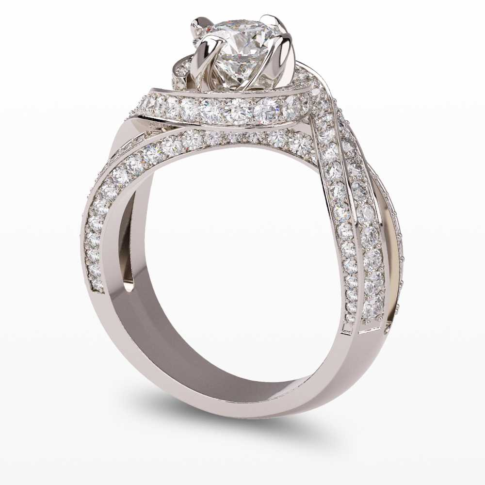 Model-1.3 Forever Love Special Diamond Ring Collection Image