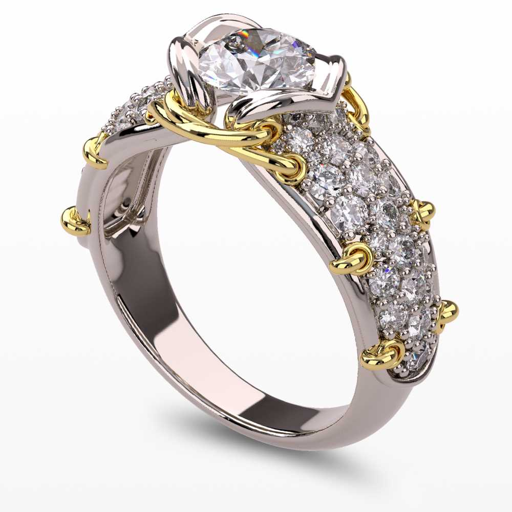 Model-1.4 Forever Love Special Diamond Ring Collection Image