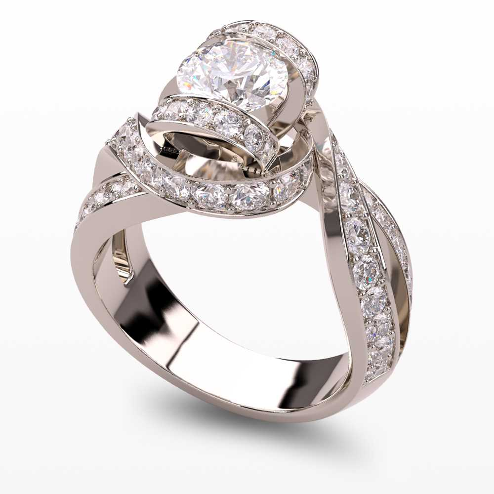 Model-1.5 Forever Love Special Diamond Ring Collection Image