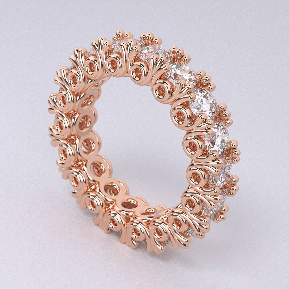 Model-10.1 Tramonto Special Diamond Ring Collection Image