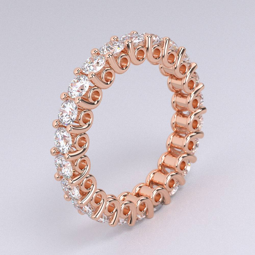Model-10.2 Tramonto Special Diamond Ring Collection Image