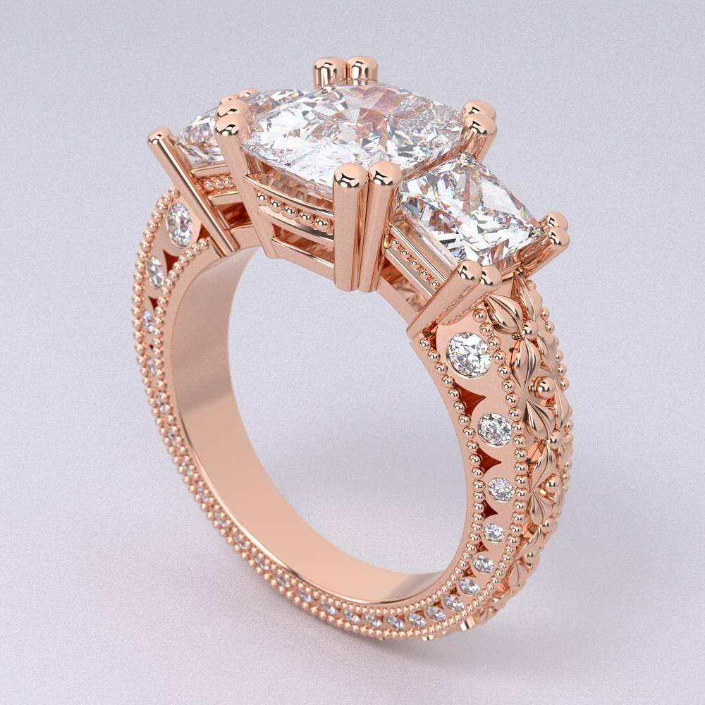 Model-10.3 Tramonto Special Diamond Ring Collection Image