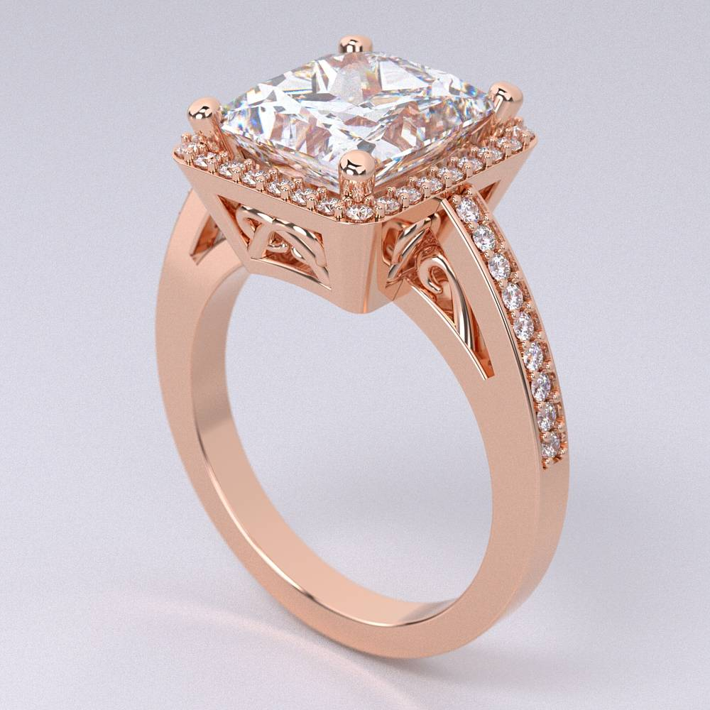 Model-10.4 Tramonto Special Diamond Ring Collection Image