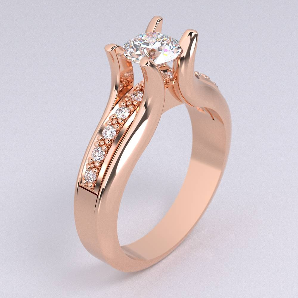 Model-10.5 Tramonto Special Diamond Ring Collection Image