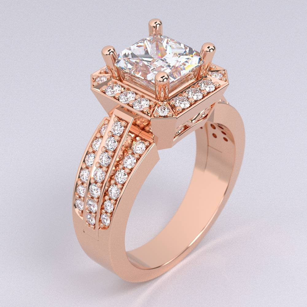 Model-10.6 Tramonto Special Diamond Ring Collection Image