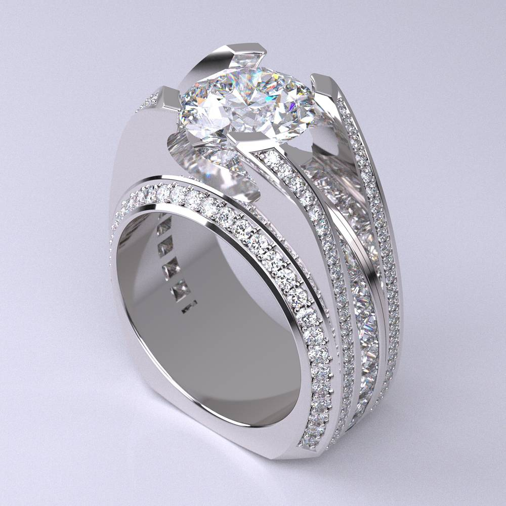 Model-11.2 Specchio Special Diamond Ring Collection Image