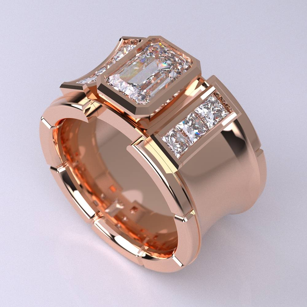 Model-11.3 Specchio Special Diamond Ring Collection Image