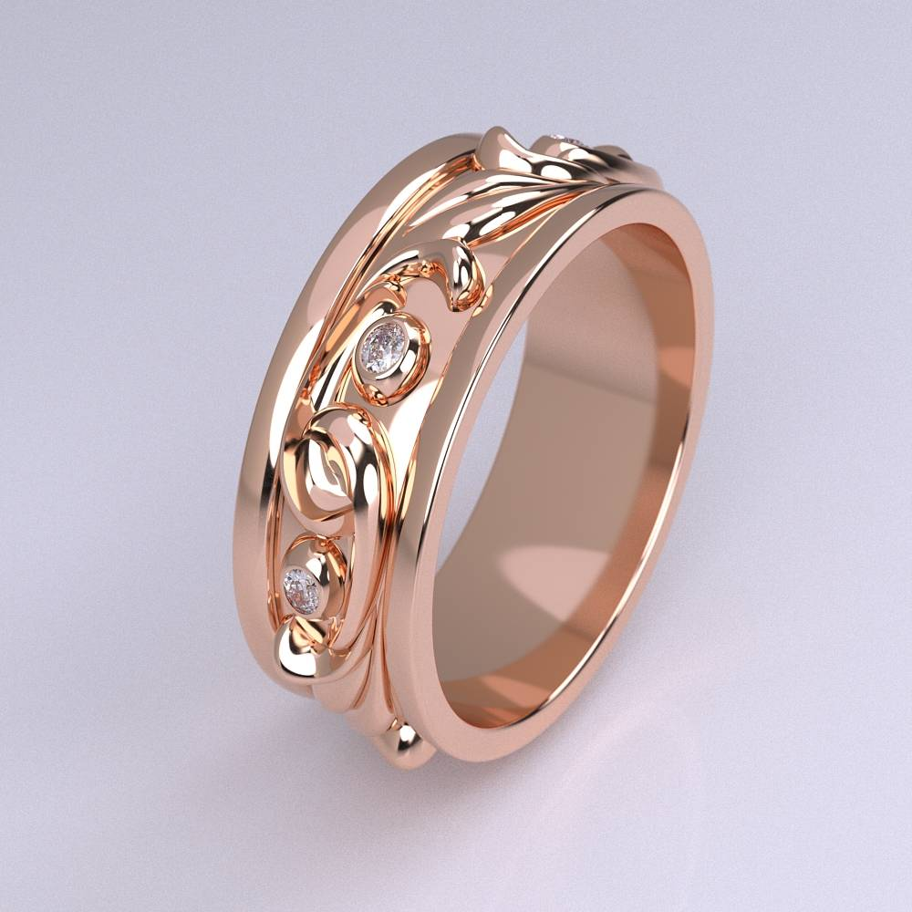 Model-11.6 Specchio Special Diamond Ring Collection Image