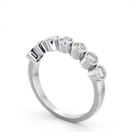 Seven stone round cut diamond ring SE6 Image